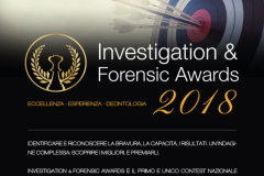 Forensic awards 2018 locandina